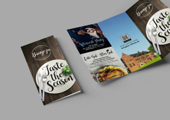Flyer Taste the Season